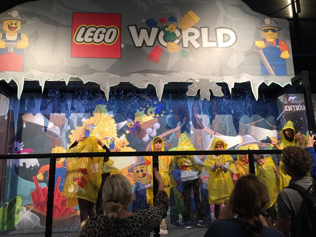 LEGO Regendouche.