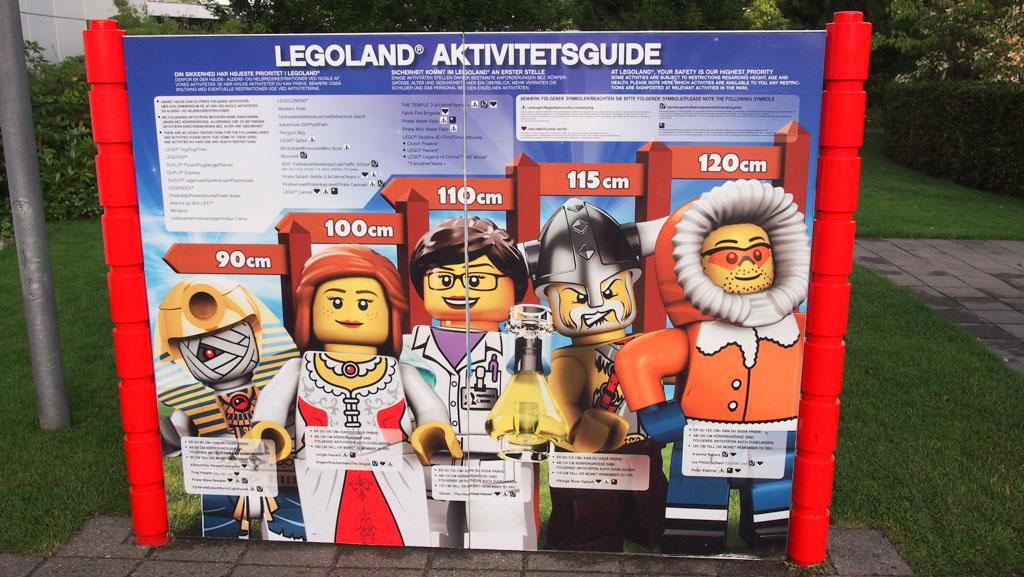 Vooraf op de website te zien en ook in LEGOLAND zelf: waar mag je in vanaf welke lengte?