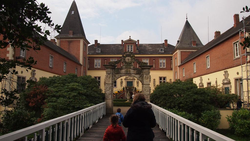 Schloss Dankern, de basis van het hedendaagse vrijetijdscentrum.