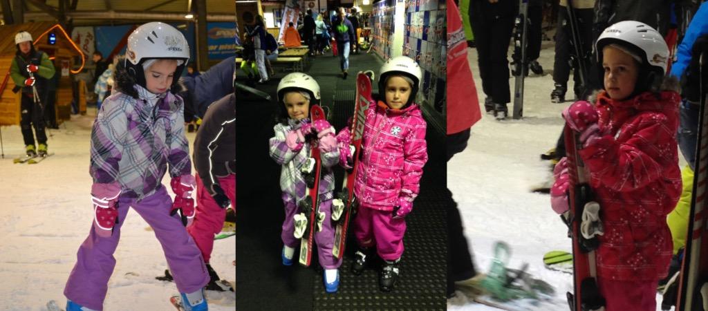 Snowworld Zoetermeer proefles skien met kinderen