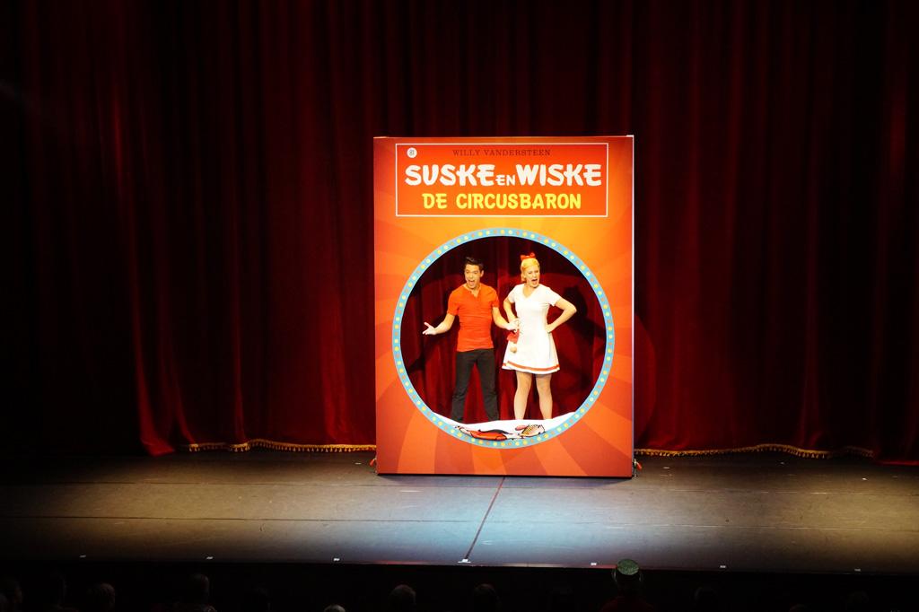 Daar zijn ze dan.... Suske en Wiske!
