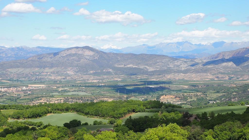 ... indrukwekkende bergen.