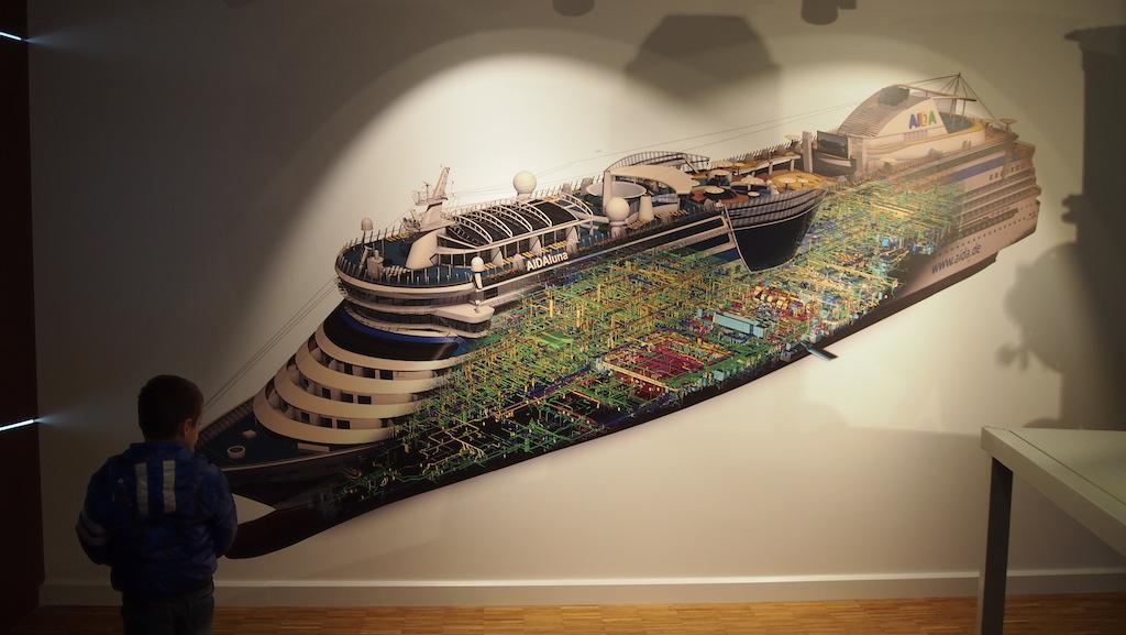 Bizar wat er allemaal nodig is om een cruiseschip te bouwen.