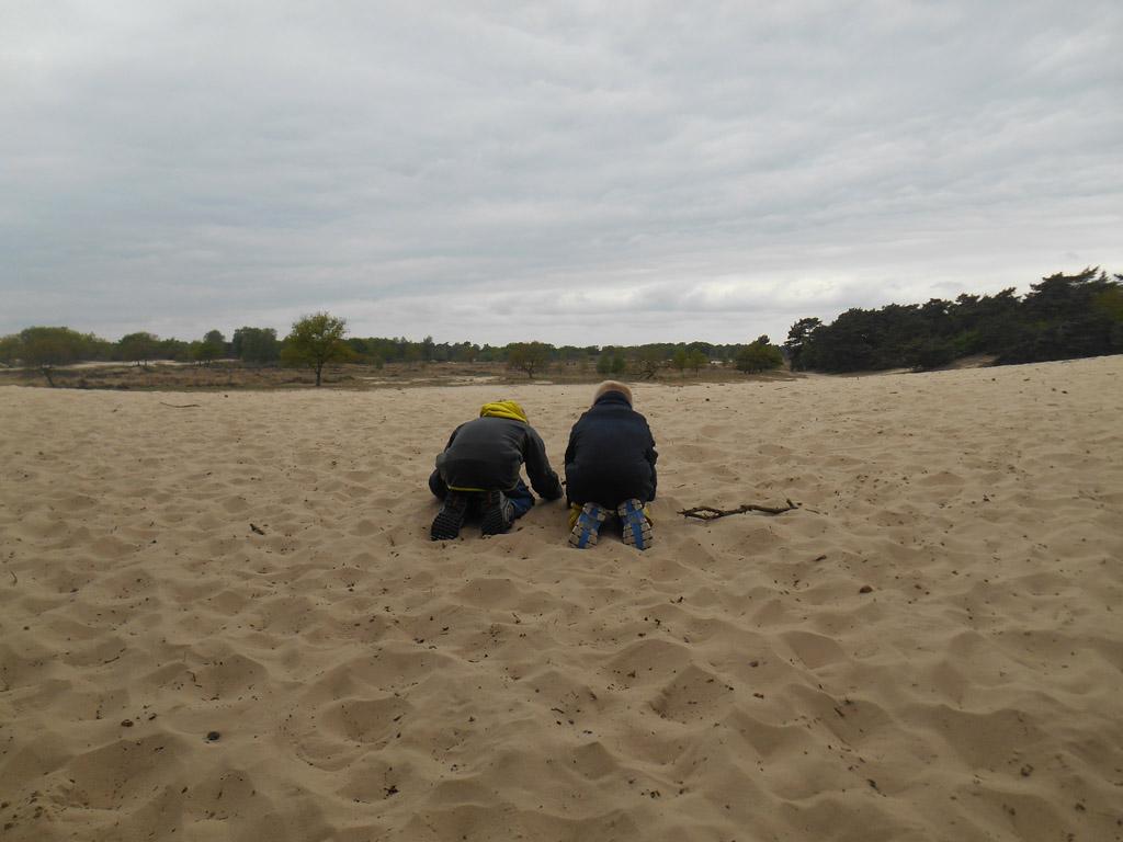 Spelen in de grootste zandbak van Europa.