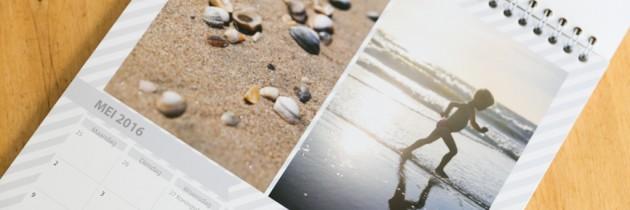 Review: Photobox kalender met vakantiefoto's