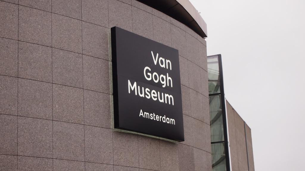 Van Gogh Museum in Amsterdam.