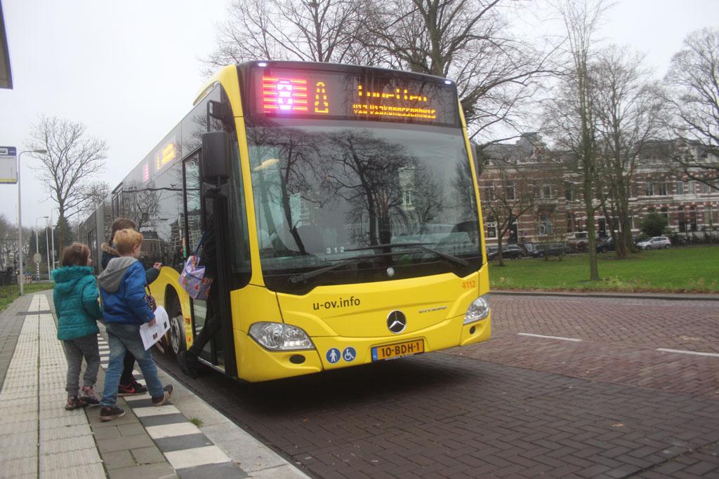 Utrecht kun je goed verkennen met de bus.