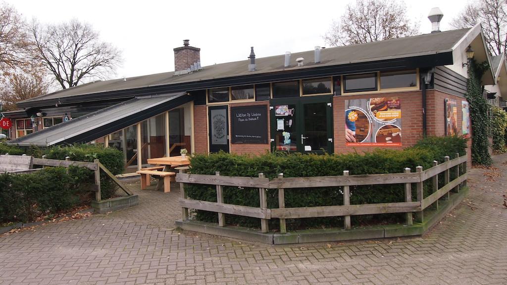 Het restaurant.