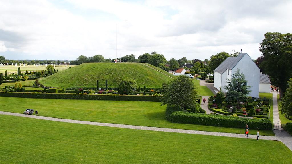 UNESCO Werelderfgoed: de grafheuvels van Jelling.