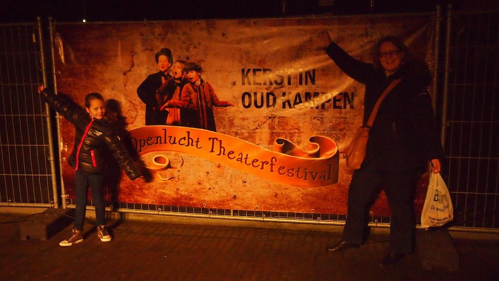 Kerst in Oud Kampen: openlucht theaterfestival