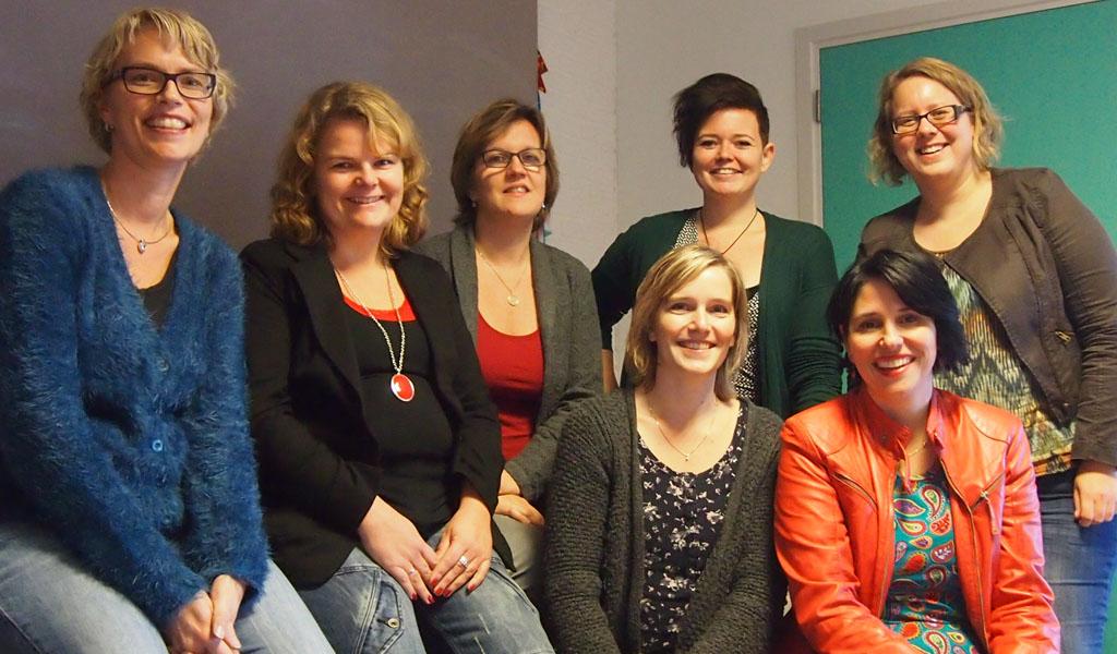 Zo trots op 'mijn' KidsErOpUit-team: meiden, jullie zijn top! (en heel gezellig)
