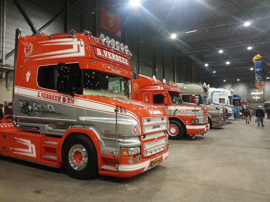 De mooiste trucks zijn te bewonderen.