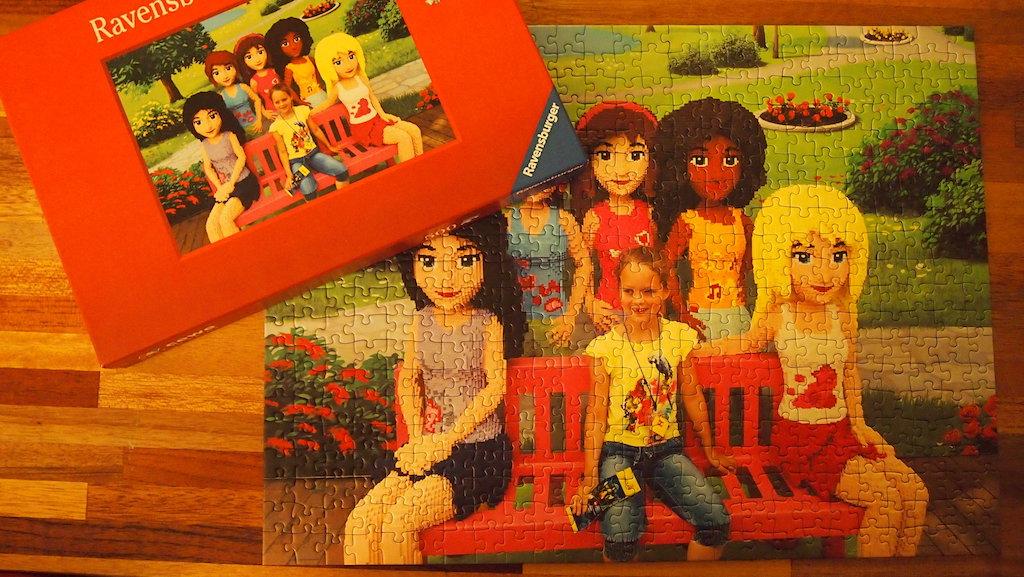 Puzzel en foto: je ziet bijna geen verschil.