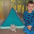 Mama, Grijze Muis gaat kamperen!