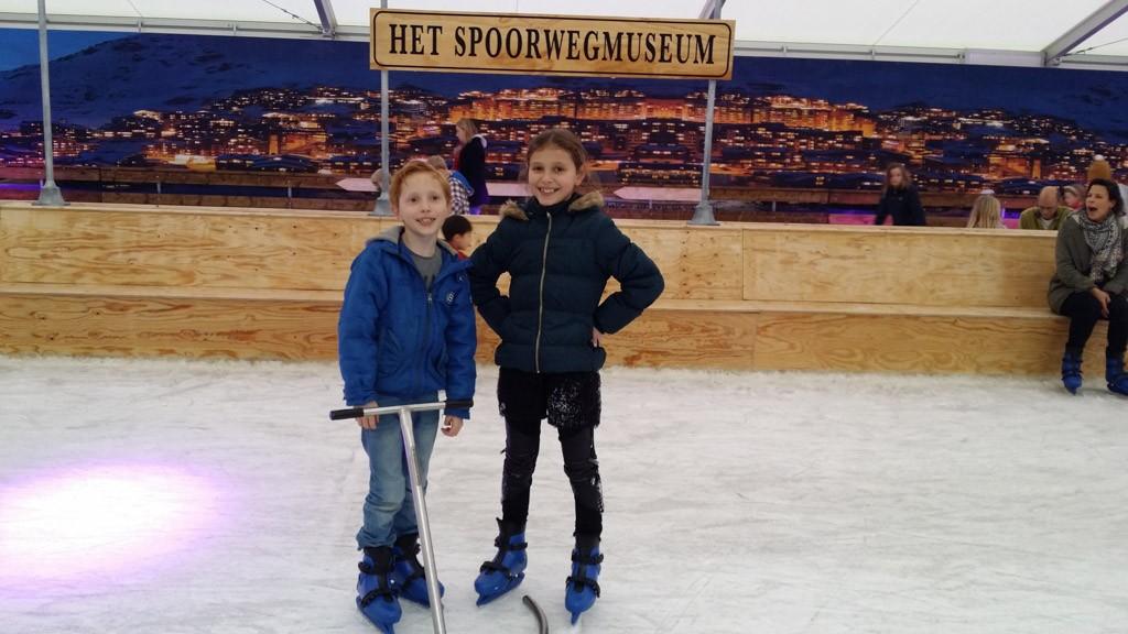 Een fijne schaatsbaan.