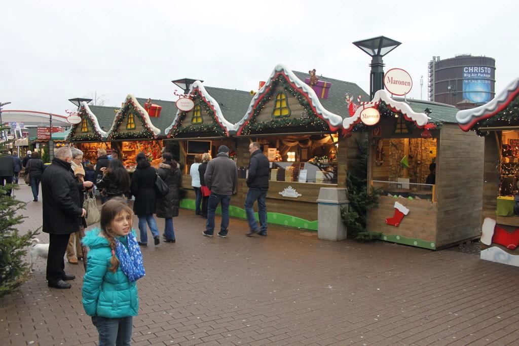 In Duitsland weten ze wel wat 'kerstsfeer' is.