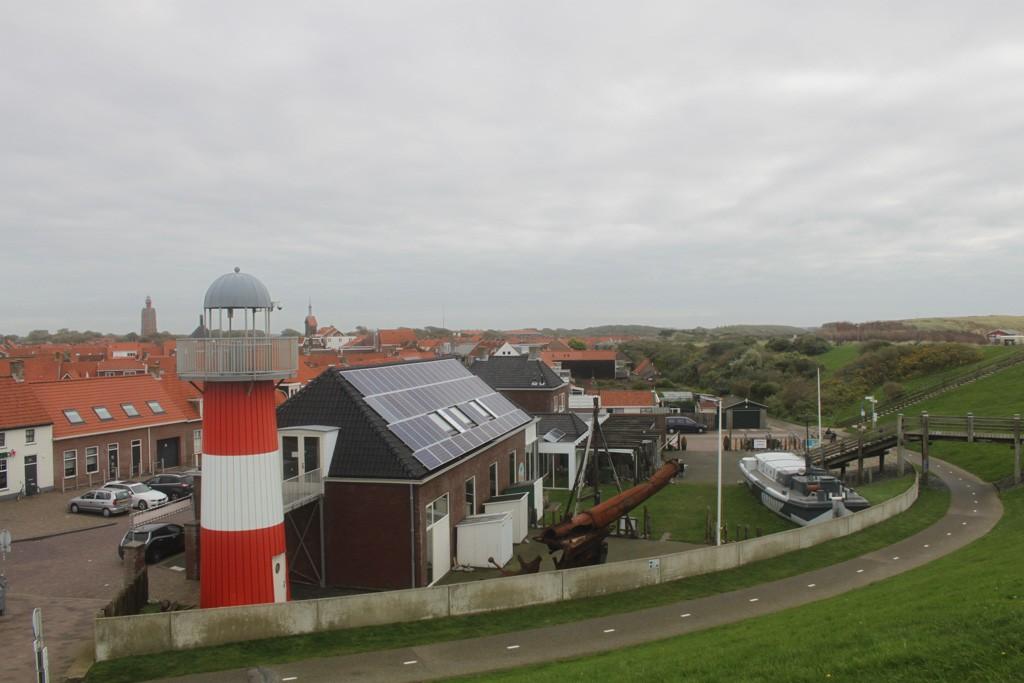 Museum Het Polderhuis ziet er aan de buitenkant fraai uit.