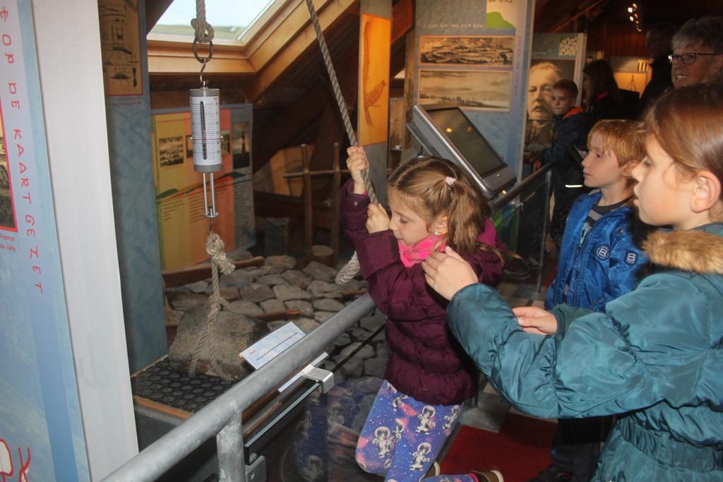 Actief bezig zijn in een museum doet het goed bij kinderen.