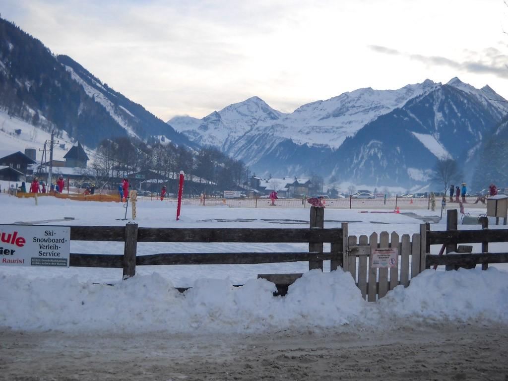 De ski-school.
