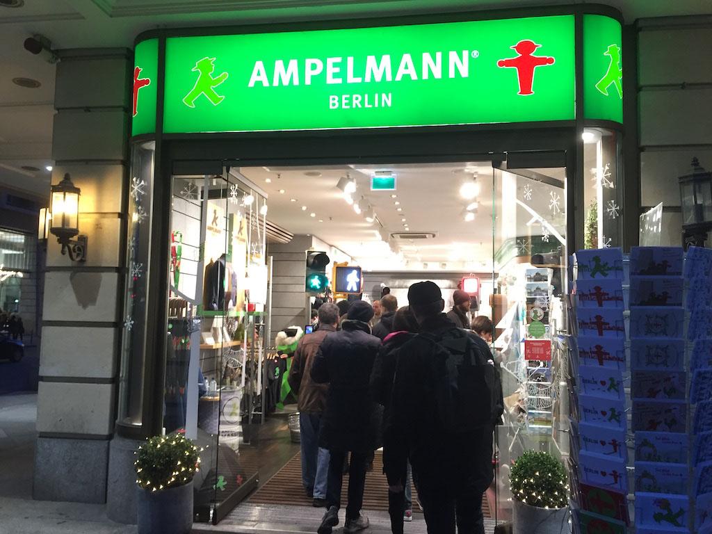 De Ampelmann winkel.