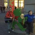 Onze twee Ampelmann-fans.