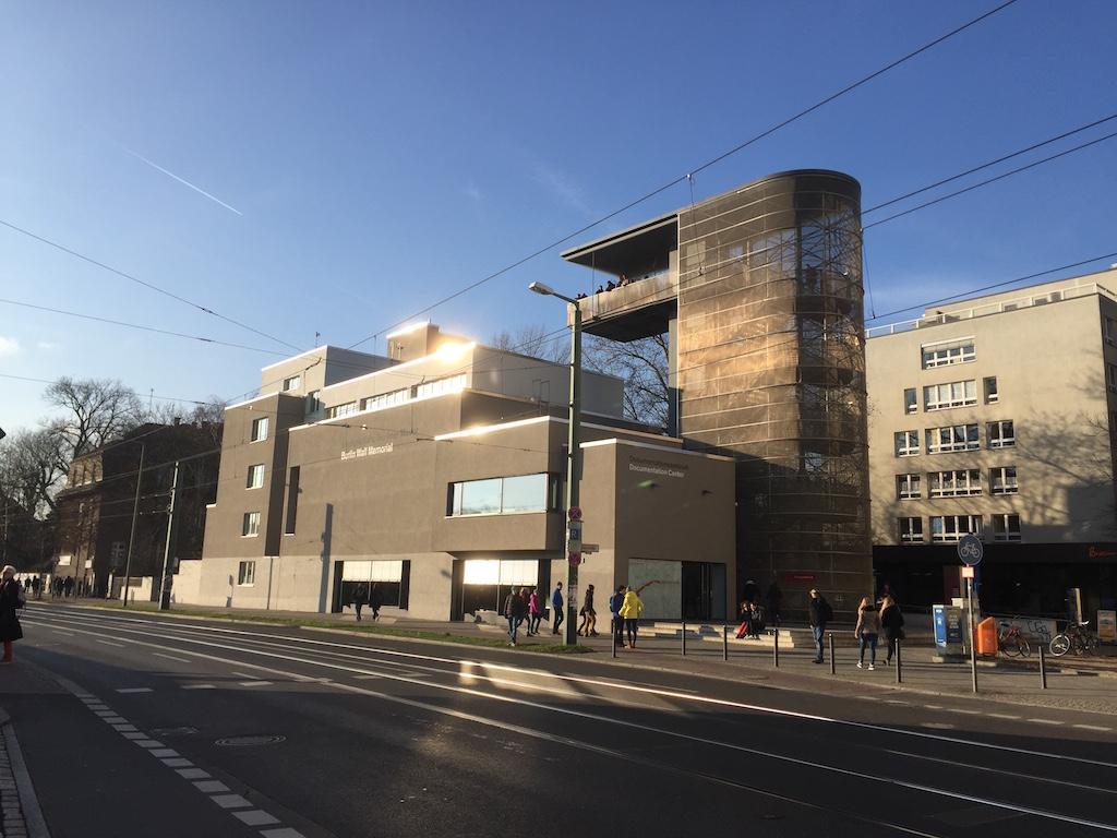 Het informatiecentrum.