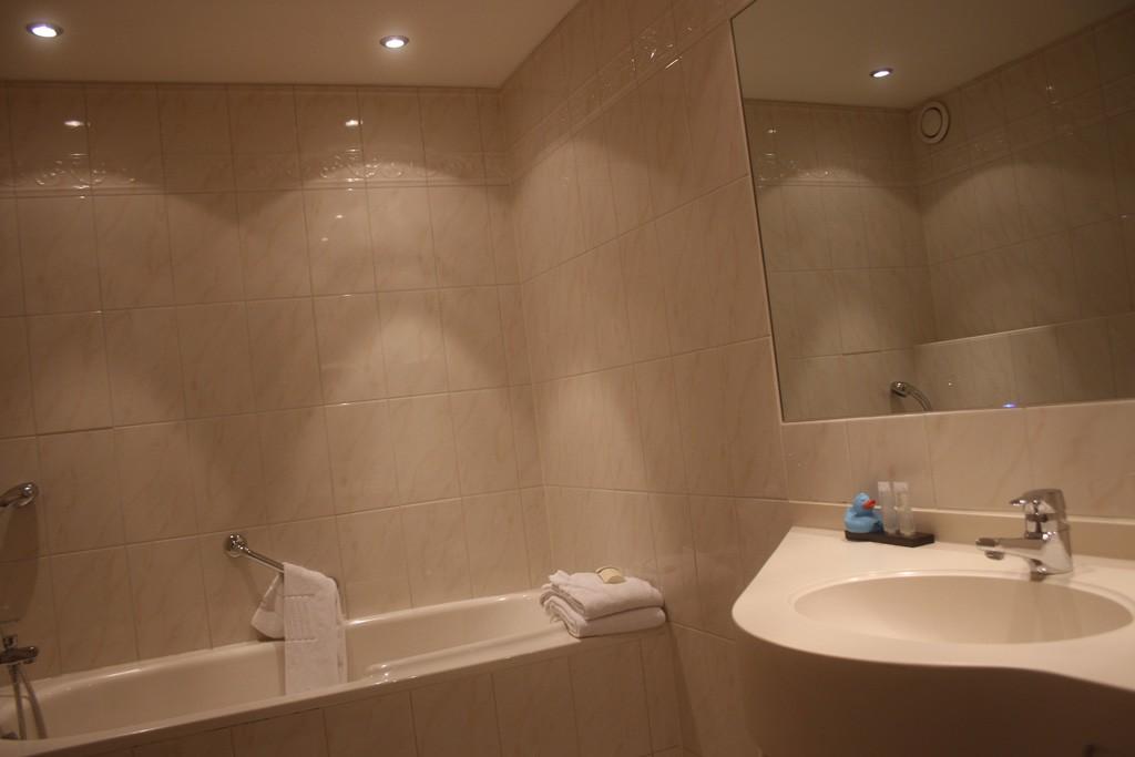 Het badeendje moet meteen worden gebruikt.
