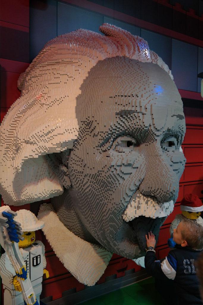 Einstein van LEGO.