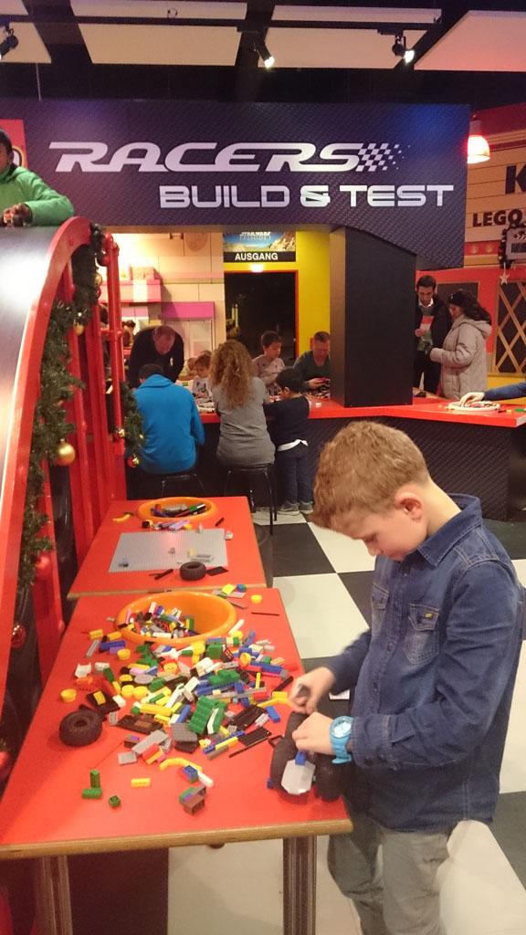 Zelf een LEGO Racer bouwen.