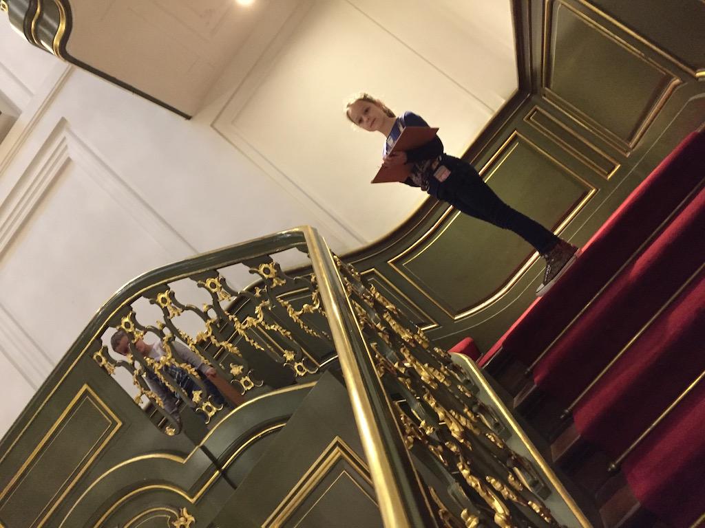 Het Paleis zorgt voor een extra dimensie aan het Escher Museum.