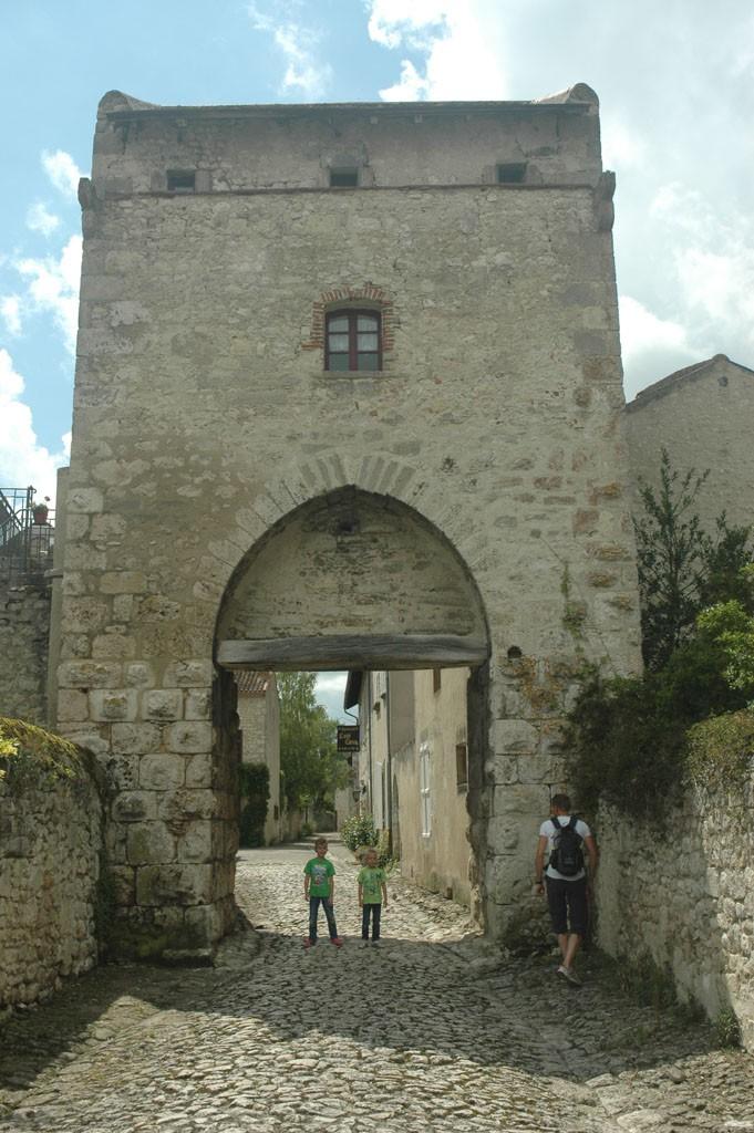 Middeleeuws dorp Charroux.