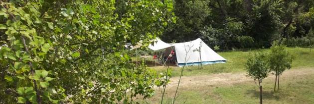 La dolce vita op camping Faranghe in Le Marche