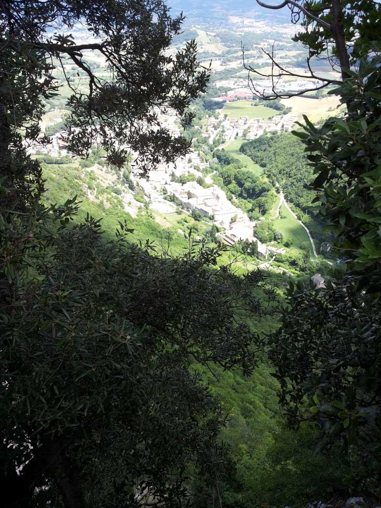 Uitzicht vanaf de kookworkshoplocatie.