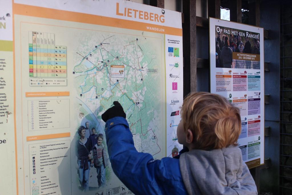 Nationaal Park Hoge Kempen kent 6 toegangspoorten. Wij beginnen bij de Lieteberg.