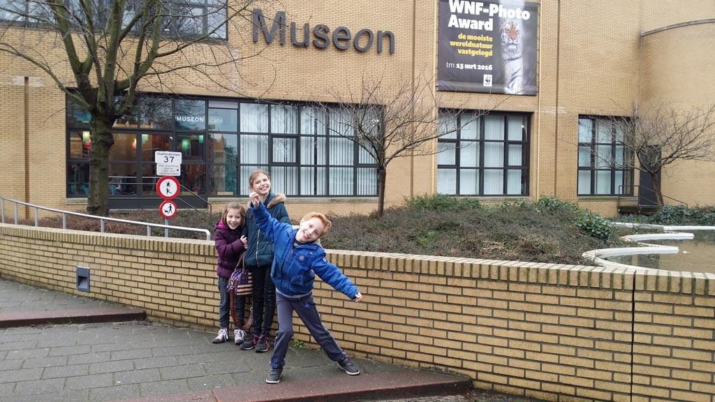 Klaar voor een bezoek aan Museon.