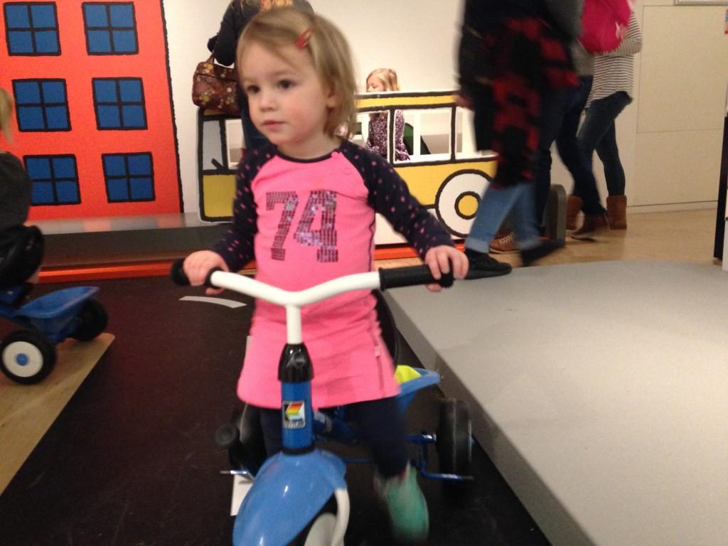 Dat fietsje staat ze voorlopig niet af.