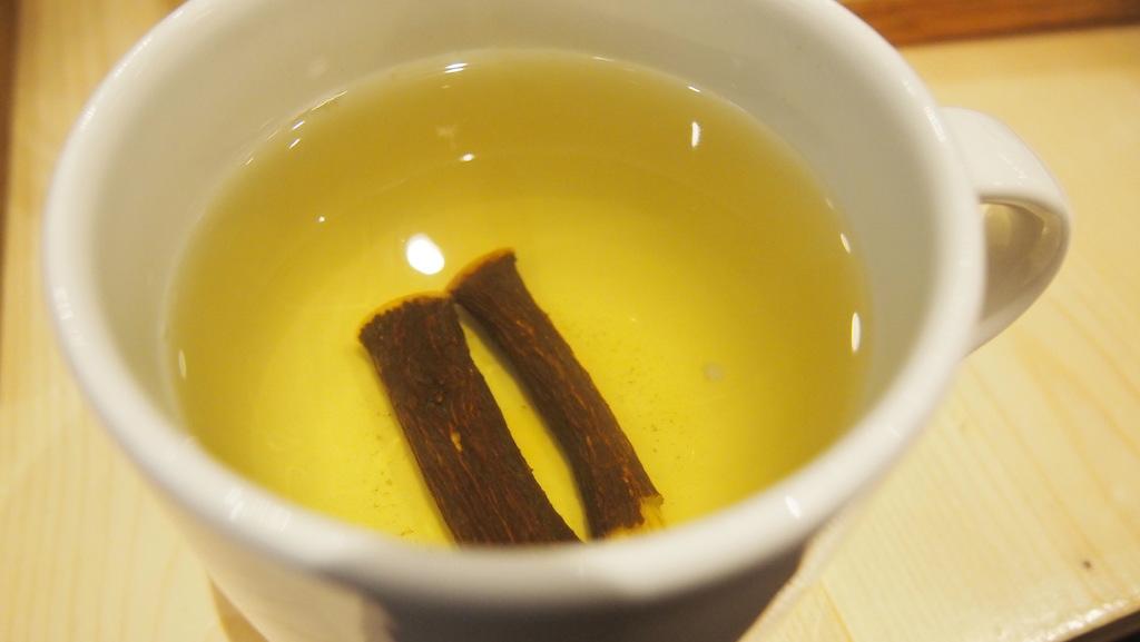 Verse zoethout thee. Aanrader!
