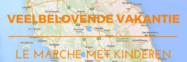 Veelbelovend: de Italiaanse regio Le Marche met kinderen