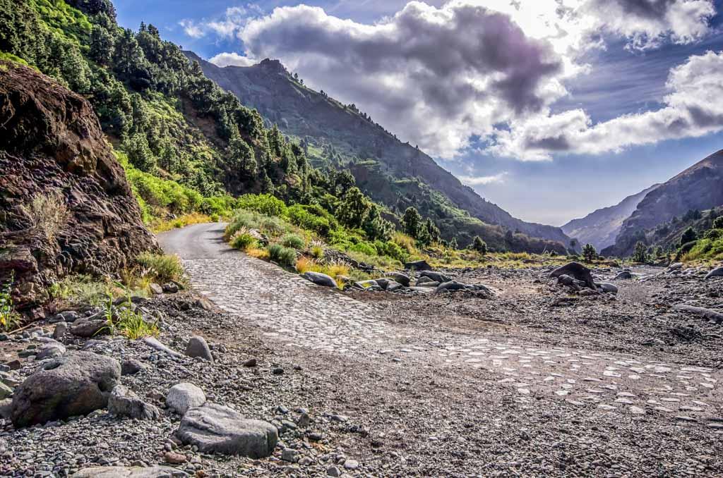 Wandelen op La Palma.