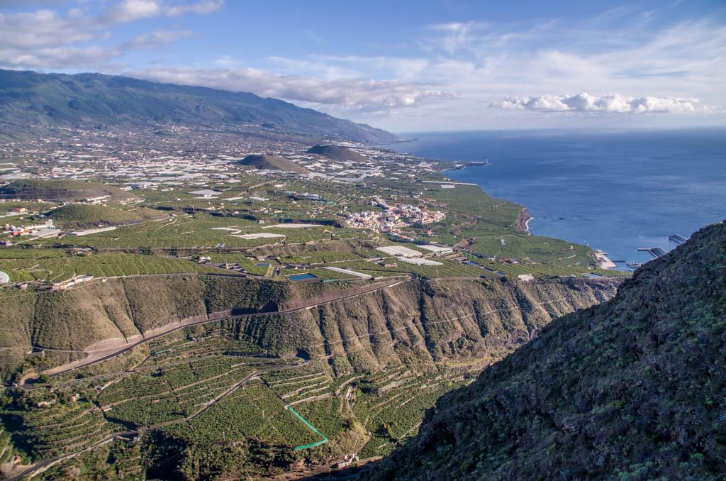 Uitzicht vanaf La Palma.