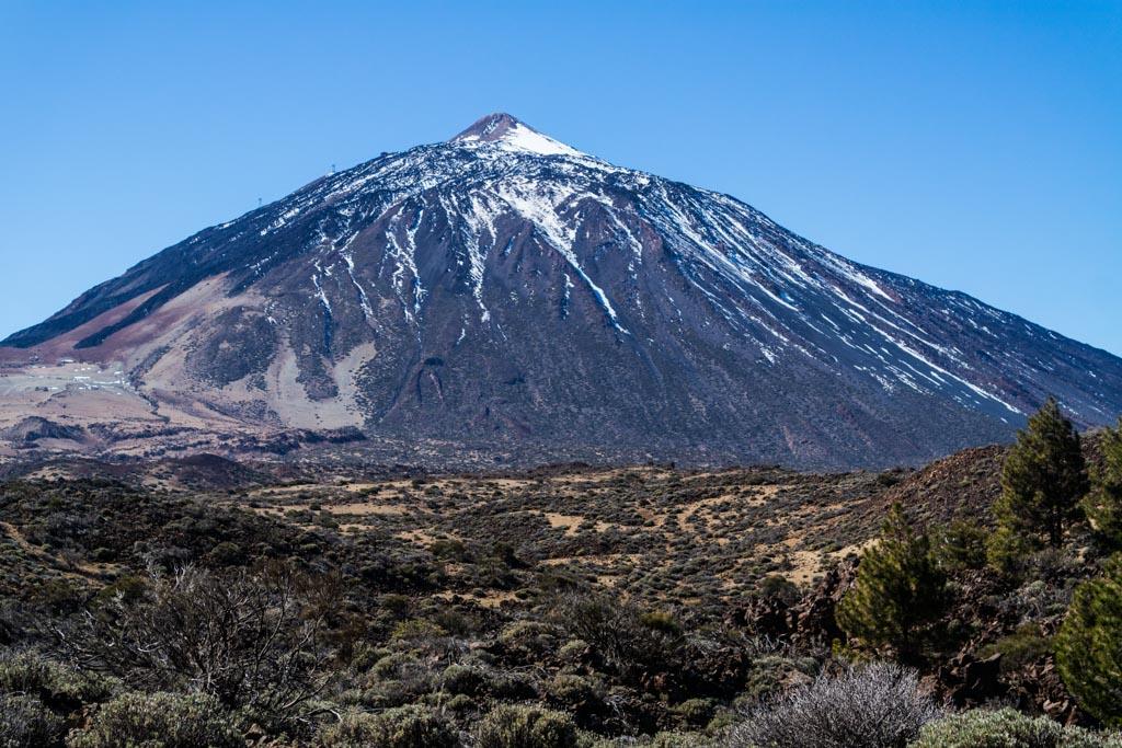 Teide op Tenerife.