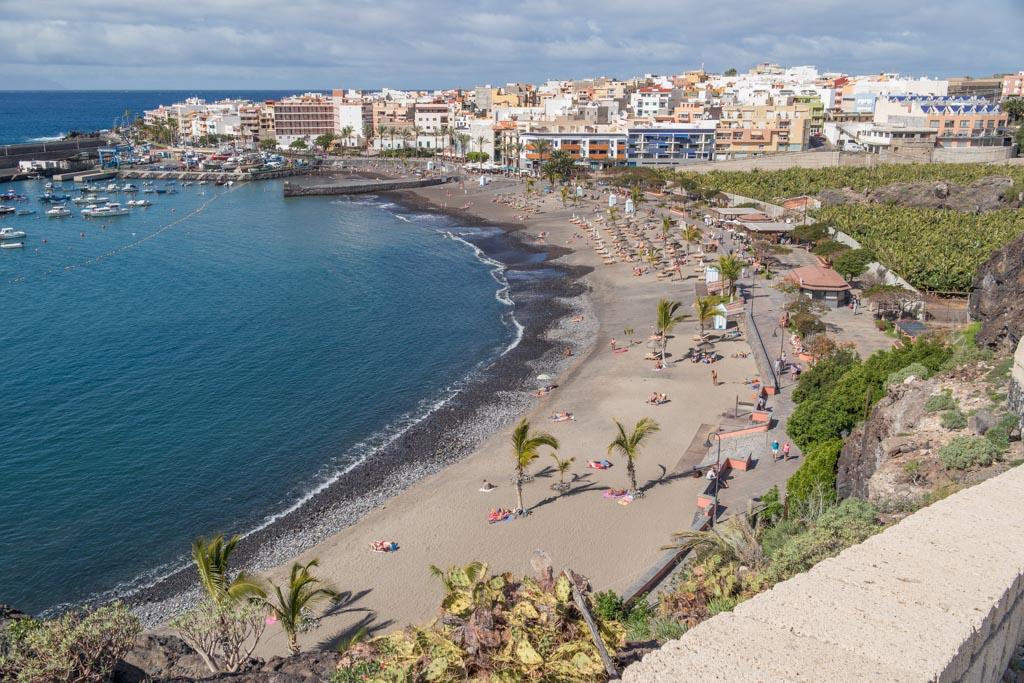 Strand op Tenerife.