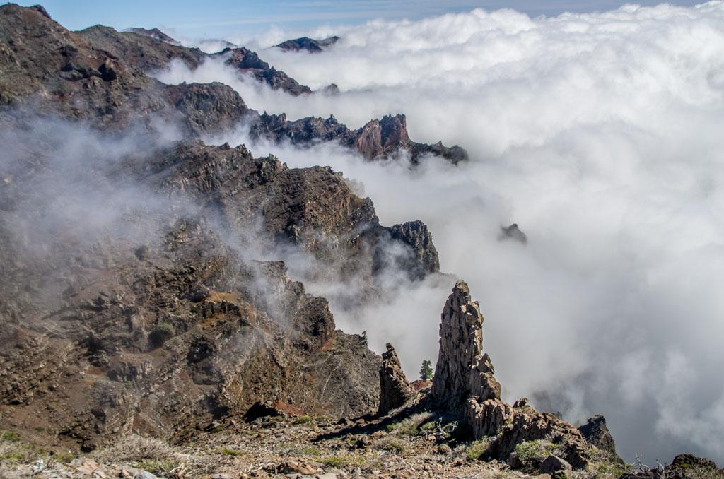 Vulkanen op Lanzarote.
