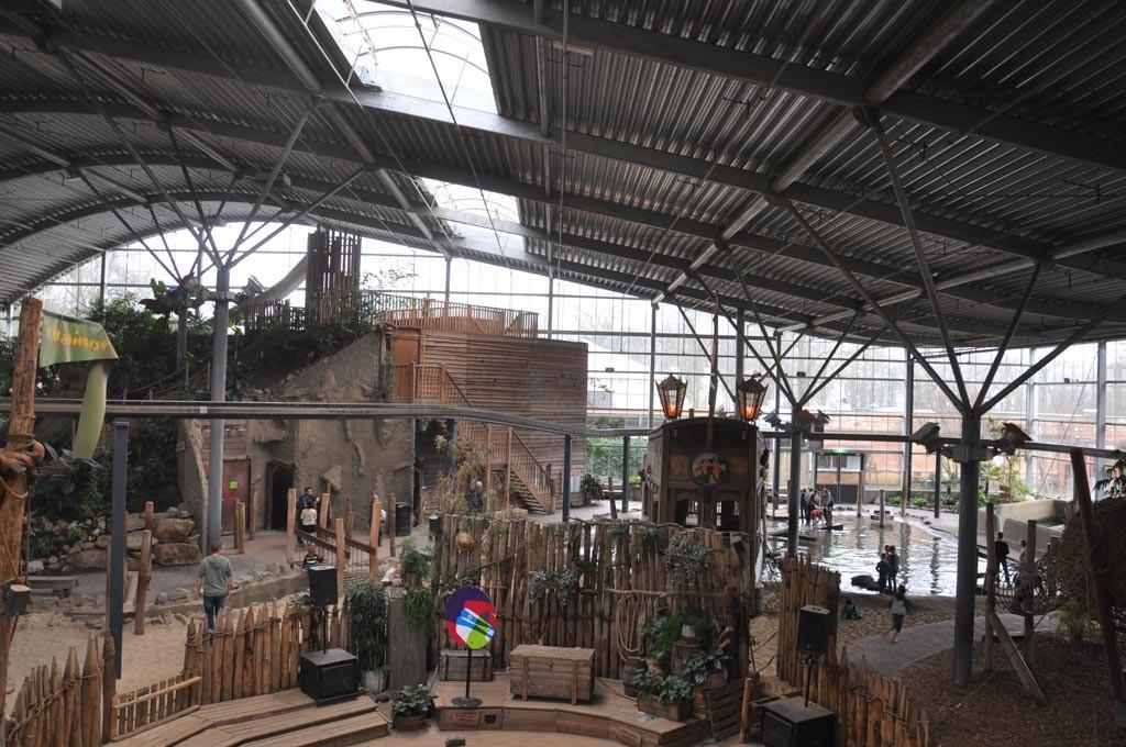 Ravot Aapia, een grote binnenspeeltuin voor avontuurlijke kinderen.