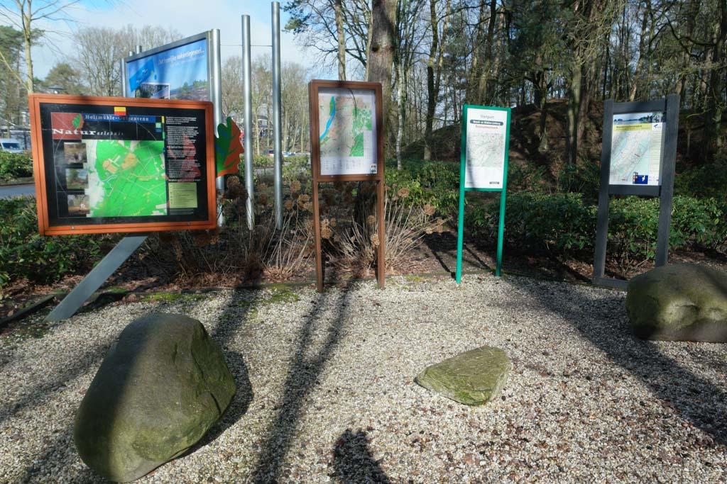 Vanaf Droompark Maasduinen zijn er verschillende wandelingen uitgezet.
