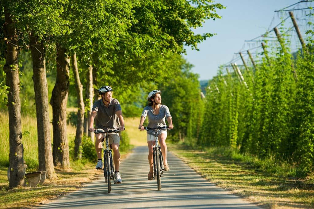 Eifel: Prümtal fietsroute (Copyright: Rheinland-Pfalz Tourismus GmbH)