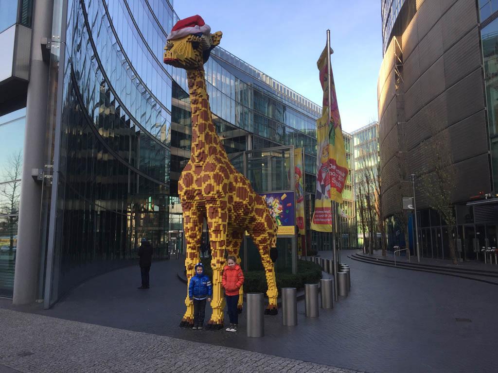 Hallo LEGO-giraffe!