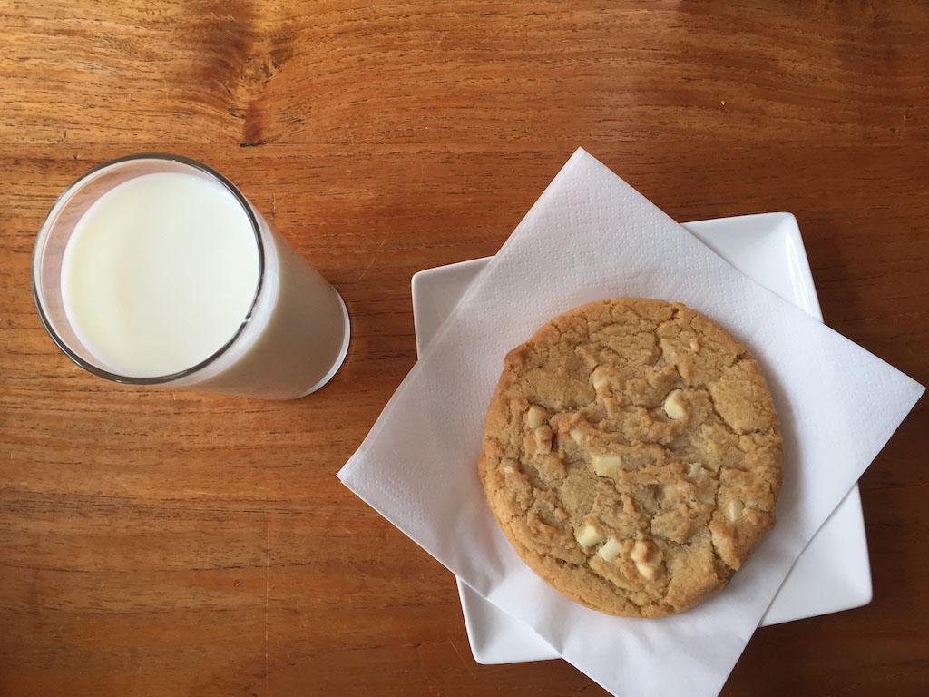 Melk en een koek(je).