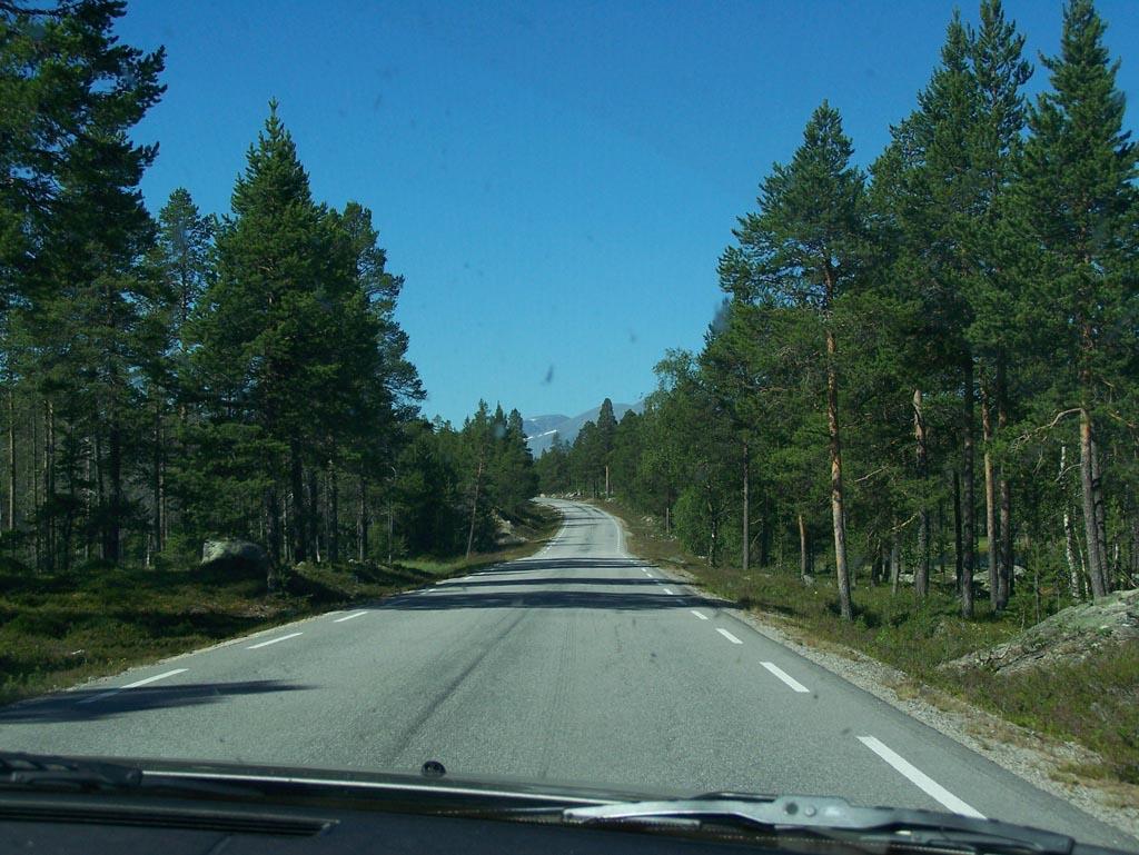 Onderweg in Noorwegen.