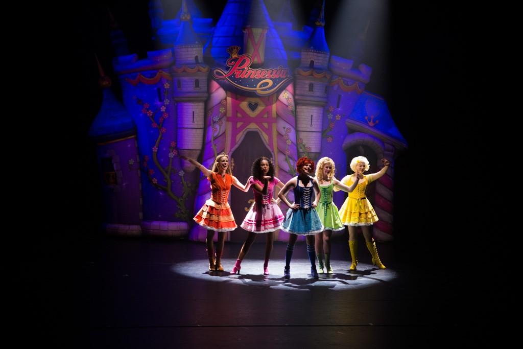 Daar zijn de prinsessen dan eindelijk!